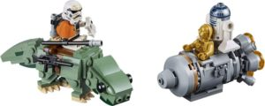 LEGO Star Wars Escape Pod vs. Dewback Microfighters (75228)