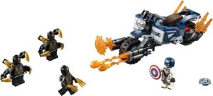 LEGO Super Heroes Captain America-Outriders Attack (76123)
