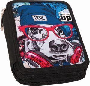 Back Me Up Dog Κασετίνα Διπλή (357-00100)