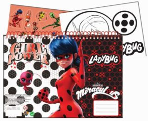 Ladybug Μπλοκ Ζωγραφικής Α4+Stickers (346-02416)