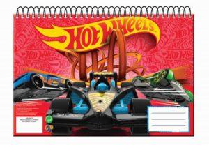 Hot Wheels Μπλοκ Ζωγραφικής Α4-30P. (349-24413)