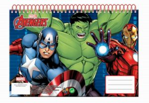 Avengers Μπλοκ Ζωγραφικής Α4-30P. (337-27413)