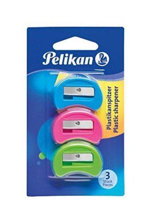 Pelikan Ξύστρα Πλαστική-3Τμχ (700184)