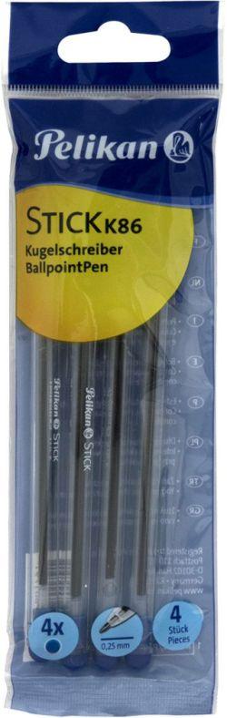 Pelikan Στυλό Stick K86-4Τμχ (801799)
