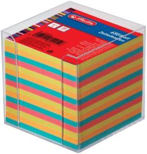 Herlitz Κύβος Με Χαρτάκια Σημειώσεων 650 Φύλλα-4 Χρώματα (1600253)