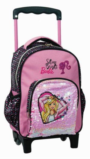 Barbie Sparkle Σακίδιο Νηπιαγωγείου Trolley (349-64072)