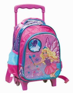 Barbie Fantasy Σακίδιο Νηπιαγωγείου Τrolley (349-63072)