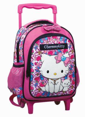 Charmmy Kitty Σακίδιο Νηπιαγωγείου Trolley (335-07072)