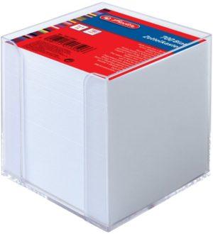 Herlitz Κύβος Με Χαρτάκια Σημειώσεων 700 Φύλλα-Λευκό (10410801)