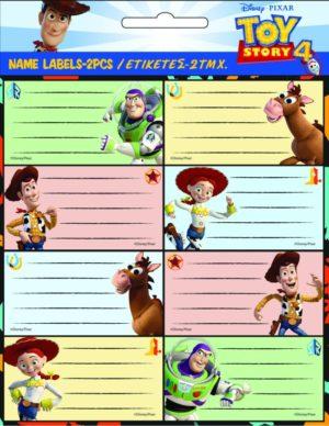 GIM Ετικέτα 2Τμχ Toy Story 4 (773-23046)