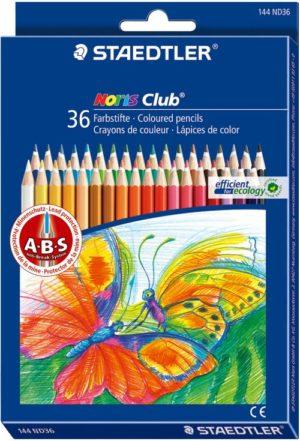 STD Ξυλομπογιές Noris Club-36Τμχ (144 ND36)