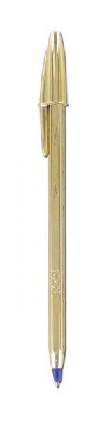 Bic Στυλό Cristal Celebrate Χρυσό Μπλε (9213401)