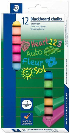 STD Κιμωλία Χρωματιστή-12Τμχ (2360)