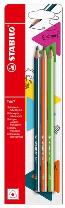 Stabilo Μολύβια 369 Trio-3Τμχ (128500130)