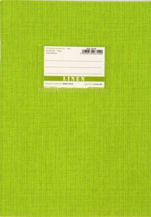 A&G Τετράδιο Λαχανί Linen 17x25 50 Φύλλων 70gr-1Τμχ (26744)