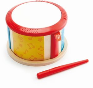 Hape Early Melodies Ξύλινο Τύμπανο Double-Sided Drum (E0608)