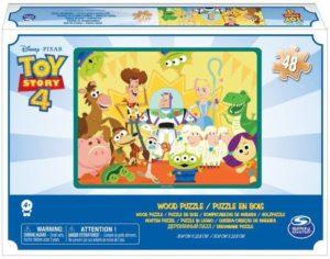 Παζλ Ξύλινο 48τμχ Toy Story 4 (6053101)