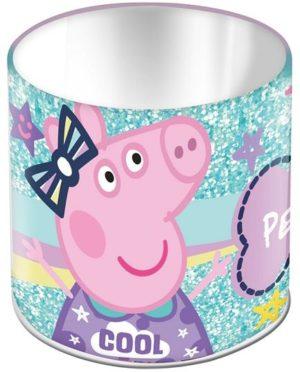 Peppa Pig Μολυβοθήκη Μεταλλική 10x10cm (0482437)