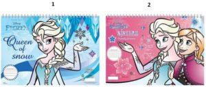 Frozen Μπλοκ Ζωγραφικής Α4 30 Φύλλων-2 Σχέδια (0562351)