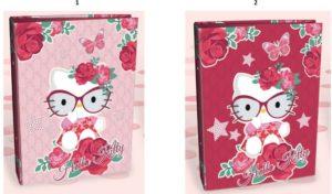 Hello Kitty Κλασέρ 17x25 - 2 Σχέδια (19809)