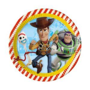 Πιάτο Μεγάλο 23cm Toy Story 4 - 8Τμχ (90870)