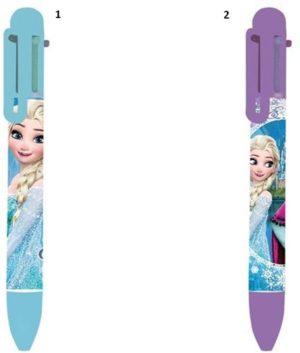 Frozen Στυλό Με 6 Χρώματα-2 Σχέδια (0562031)