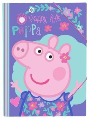 Peppa Pig Φάκελος Λάστιχο 25x35 (0482435)
