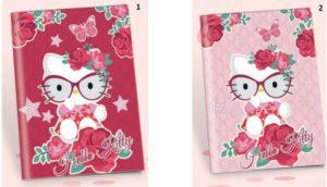 Hello Kitty Τετράδιο Καρφίτσα 17x25 50 Φύλλων 1Τμχ-2 Σχέδια (19800)