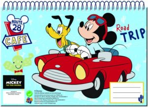 Mickey Street Μπλοκ Ζωγραφικής Α4-30 Φύλλα (340-80413)