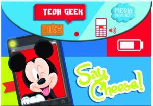 Mickey Street Smart Φάκελος Κουμπί PP (340-73580)