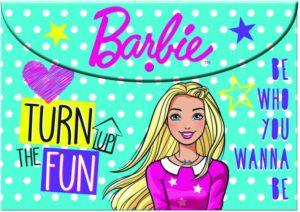 Barbie Φάκελος Κουμπί Α4 PP (349-63580)