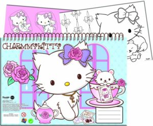 Charmmy Kitty Tulip Μπλοκ Ζωγραφικής Α4 40 Φύλλα+Stickers (335-07416)