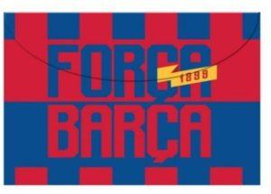 Barcelona Φάκελος Κουμπί Α4 (0170676)