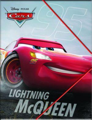 Cars Neon Ντοσιέ Λάστιχο Α4 PP (341-43515)