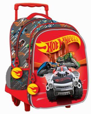 Hot Wheels Σακίδιο Νηπιαγωγείου Τrolley (349-24072)