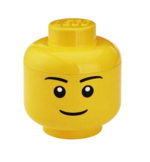 LEGO Κεφάλι Αποθήκευσης Small Yellow Boy 024 (299041)