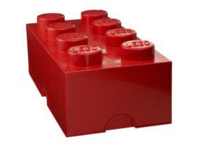 LEGO Κουτί Αποθήκευσης Red 8 (299019)