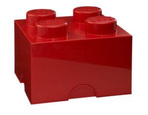LEGO Κουτί Αποθήκευσης Red 4 (299024)