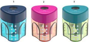 Faber Castell Ξύστρα Μονή Auto Δίχρωμη-3 Χρώματα (12309831)
