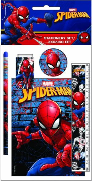 Spiderman Σετ Σχολικό+Μπλοκ (337-72755)