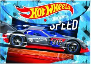 Hot Wheels Φάκελος Κουμπί PP (349-24580)