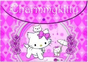 Charmy Kitty Φάκελος Κουμπί PP (335-07580)