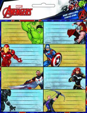 GIM Ετικέτα Avengers 2Τμχ (777-54046)