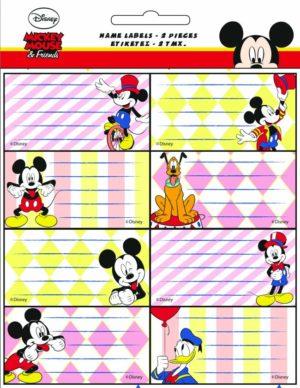 GIM Ετικέτα Mickey 2Τμχ (773-00046)