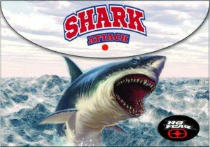 No Fear Ocean Shark Φάκελος Κουμπί (347-63580)
