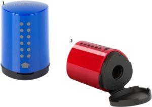 Faber Castell Ξύστρα Mini Grip-2 Χρώματα (12309323)