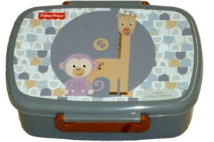 Gim Δοχείο Φαγητού (Microwave) Fisher Price Giraffe & Monkey (571-46265)
