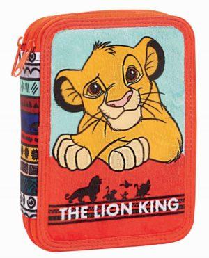 Lion King Κασετίνα Διπλή (331-60100)