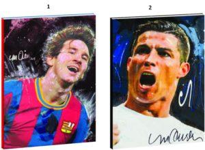 Football Icons Τετράδιο 17x25-2 Σχέδια (338-84400)