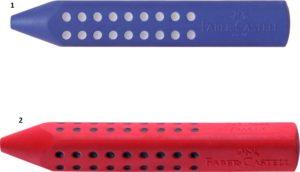 Faber Castell Γόμα Grip-2 Χρώματα (12306315)